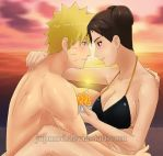 NaruTen: Tender Beach Birthday (Close-up) by JuPMod
