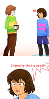 Undertale Comic: Is that a?!?!? by atomicheartlight
