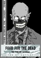Zombie Comic Cover by m99art