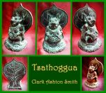 Tsathoggua - Clark Ashton Smith, Cthulhu Mythos by zombiequadrille