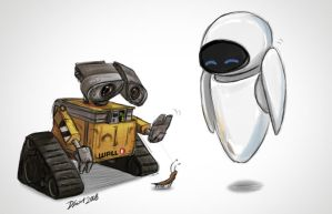 Wall E by SupaCrikeyDave