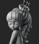 Flower Girl | Speed Sculpt by Alina-207