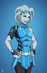 2-6-8-1-7-9-5 [Two-Six] (Earth-27) commission by phil-cho