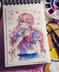 Yuno - The queen of Yandere by tamber-mizuki