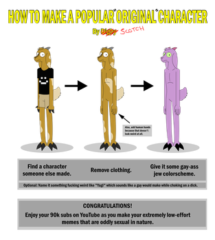 How to Make a Popular Original Character by DigbyTheGoat