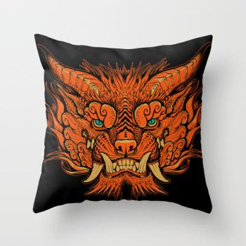 Foo pillow by missmonster