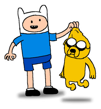 Finn and Jake by Young-Freddy