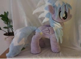 Cloudchaser plushie * my very first minky plush!* by Epicrainbowcrafts