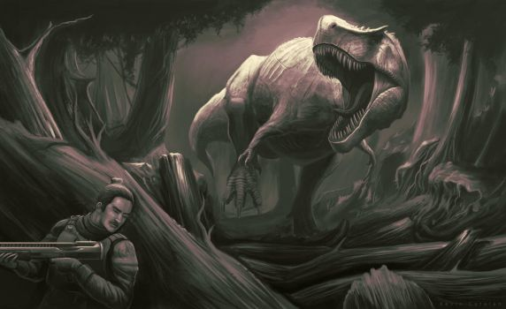 Is that a T-rex by Kevin-Studios