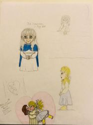 Rankin/Bass: The Hobbit - (Old) Rowanne sketches 2 by LadyMarigold77