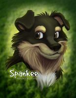 Toon Dogs Spankee Dhana Metta Rescue Society by tweakfox
