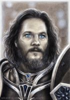 Travis Fimmel as Anduin Lothar (Warcraft) by Akadio