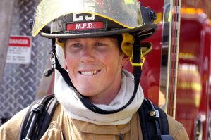 Fireman Smile by photoart1