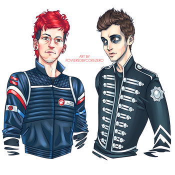 My Chemical Pilots by PoweredByCokeZero