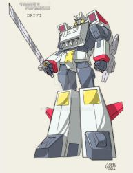 Retro G1 DRIFT triple changer by GuidoGuidi