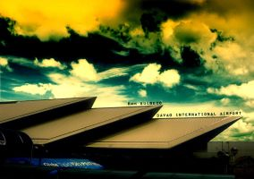 Davao International Airport by baloneyart