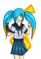 Gakuen of Legends: Sona by Mantiskin