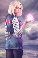 Android 18 Dragon Ball Z Cosplay by DanielleDeNicola
