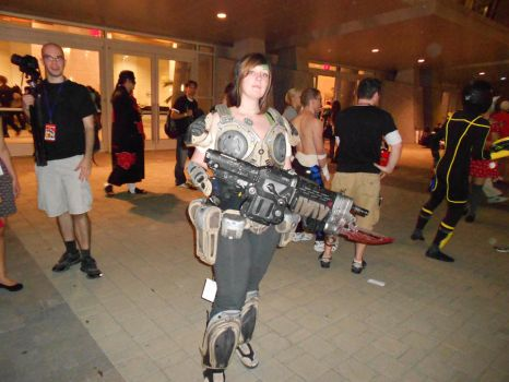 Animazement 2012 - COG Sam by koldtrane