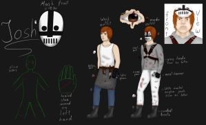 Creepypasta/Killerpasta REF: Josh /OLD/ by ImaginemonsterVi