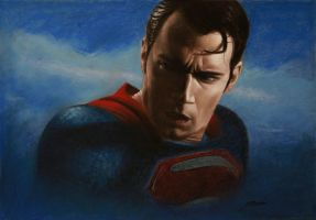 Superman by VasilArt