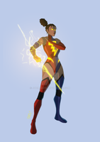 Mega Woman by JoeMDavis
