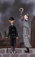 Holmes and Watson by SmudgeThistle