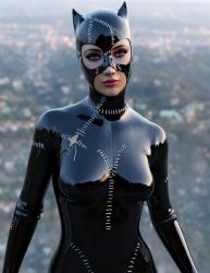 Catwoman test render by guhzcoituz