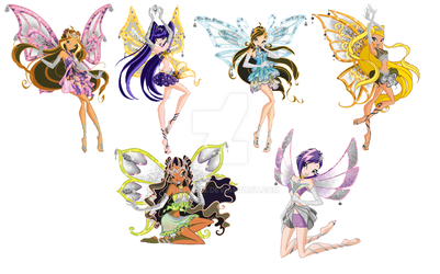 Dark Winx Club my style by Wiki09818