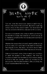 Deathnote Rules - page 3 by deathNote-club