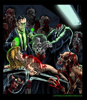 Re-Animator by BryanBaugh by MonsterMovies