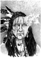 Old Indian / 2012 by JPS-Jitka