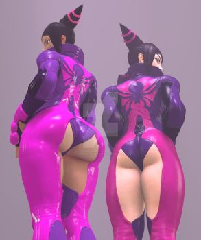 Fat or tight ass Juri by Stormdrexo