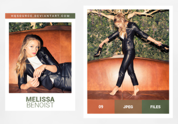 Photopack 1682 // Melissa Benoist by HQSource
