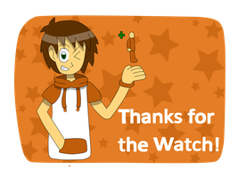 Thanks for the watch! by BlueandDark