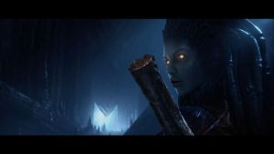 StarCraft 2 Cinematic shot 6 by Hewhoraves
