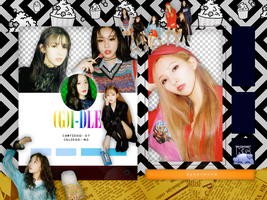 (G)I-DLE | I AM | PACK PNG by KoreanGallery