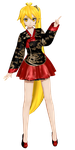 [Project Diva F] .: Korean Dress Neru :. by PiettraMarinetta