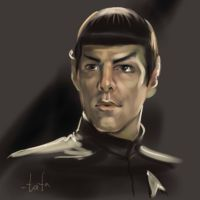 Young Spock by tafafa