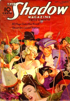The Shadow - Mardi Gras Mystery cover by SavageScribe
