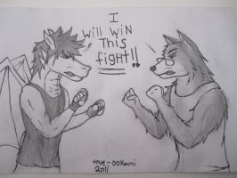 Fight Time by true-ookami