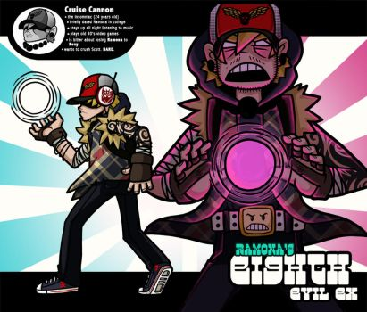 8th Evil Ex - CRUISE CANNON by taves
