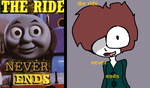 The Ride Never Ends original/my version. by fluffycatjeff