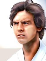 Luke SkyWalker by Unttin7