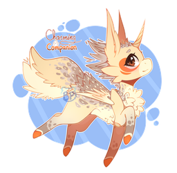 ( CLOSED ) Auction / Charming Companion T.T by BluePandaaah