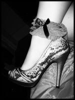 Shoe Lace by ForeverInLace