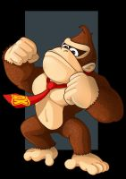 donkey kong by nightwing1975