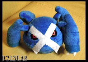 Metagross plush