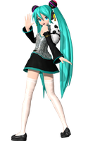 Project Diva Arcade Future Tone China Miku by WeFede