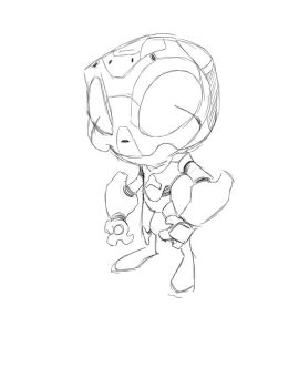 Chibi Robot Option 2 by MattMWest
